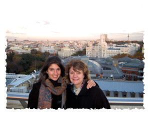My mom and Me in Madrid