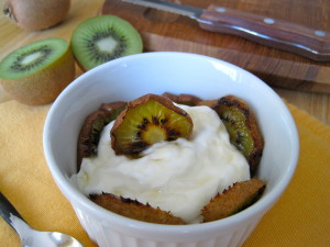 Roasted Kiwi Parfait