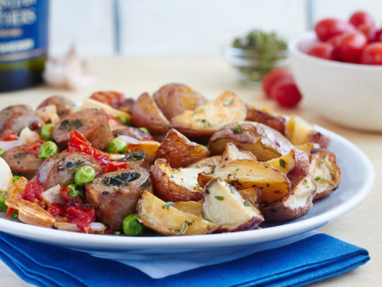Sherry Baked Chicken Sausage